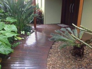 Garden beds against external walls can invite termite activity - Ballina Pest Control