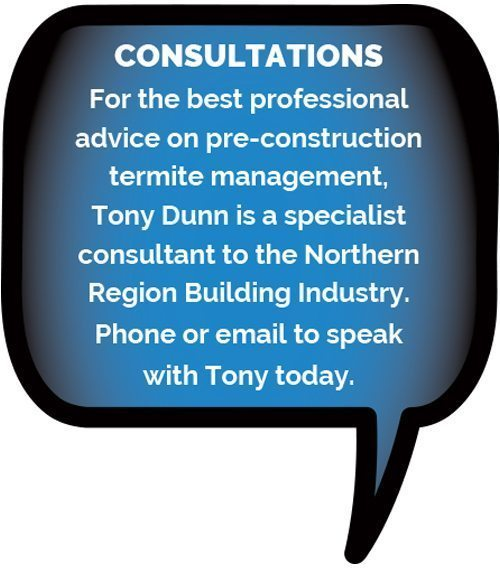 Pre-construction specialist Tony Dunn available for consultation on 0435 282 370.