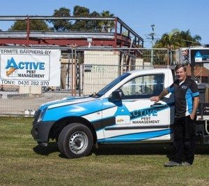 Termitemanagement zone specialist, Tony Dunn -